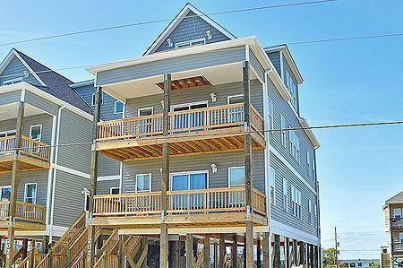 207B Seashore Dr. Ocean Side - 207-B Sea Shore Drive - North Topsail Beach - rentals