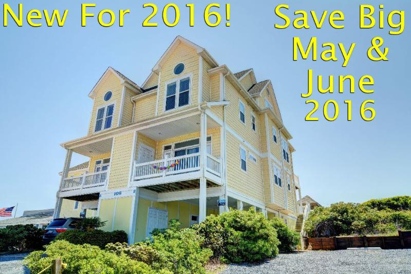 First Year Specials for May and June! - S. Shore Drive 106 | Heart of Surf City | Elevator |Internet | Direct Oceanfront - Sneads Ferry - rentals