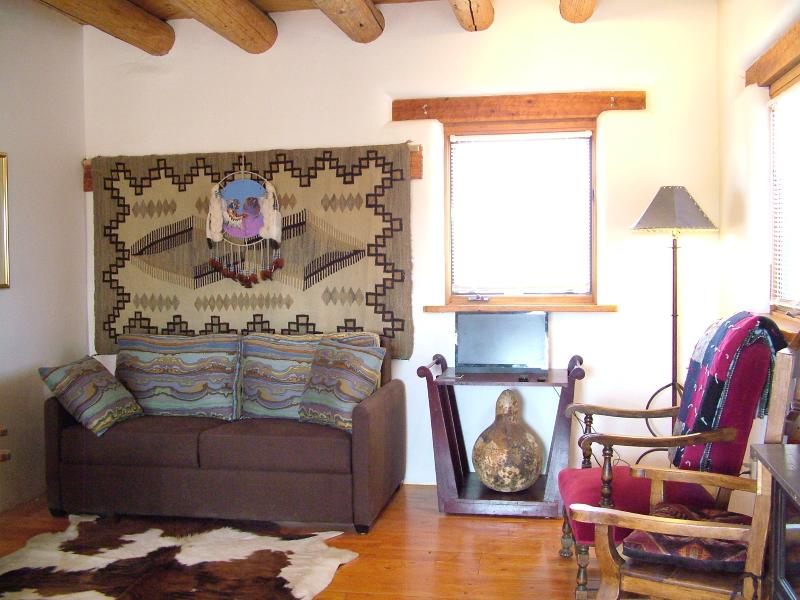 Couch is a queen sleeper.Living room has ceiling fan. - Mesa Sunrise - El Prado - rentals