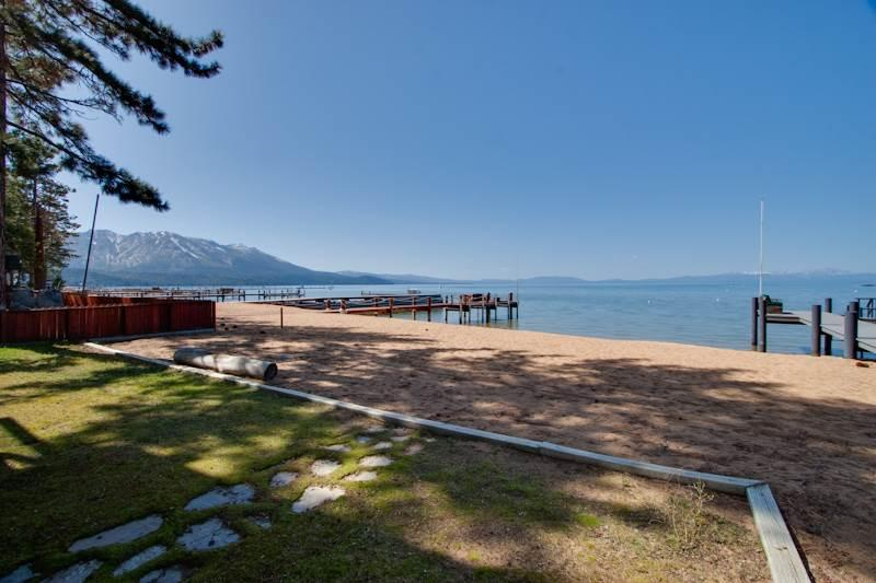 Luxury Lake Front Home with Private Beach (JB03) - Image 1 - South Lake Tahoe - rentals
