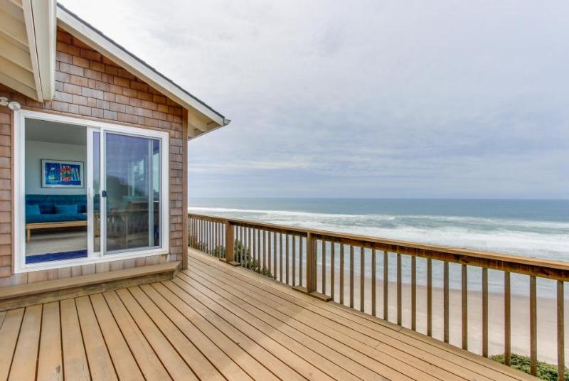 Cozy oceanfront home w/ ocean views, deck, quiet location! - Image 1 - Cloverdale - rentals