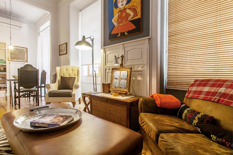 Living Room - Diva3 - Romantic apartment in the center of Lisbon - Lisbon - rentals