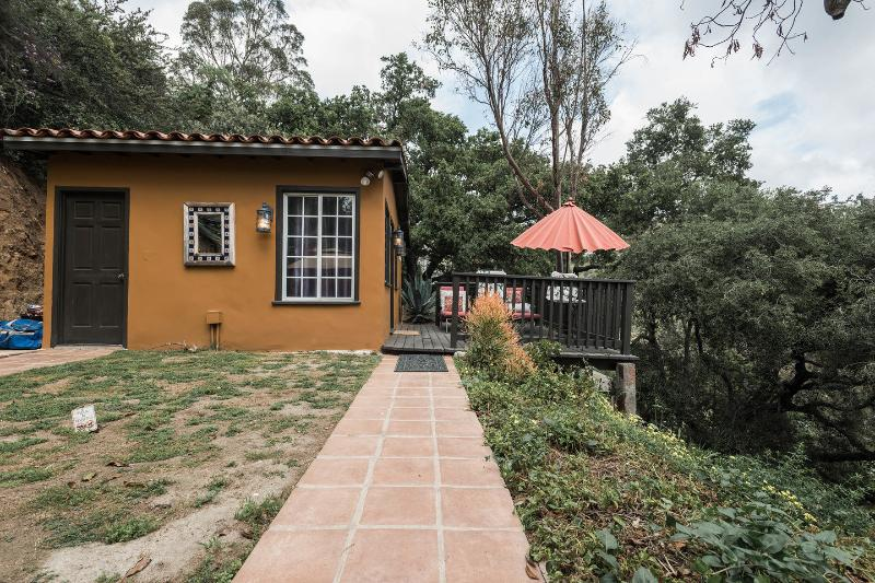 Entrance - Breathtaking Views at Mini Casita Hollywood Hills - Los Angeles - rentals