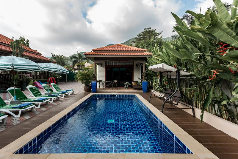 The Pool - PEN WONDERFUL 5 B ROOM VILLA  RESORT KAMALA PHUKET - Kamala - rentals