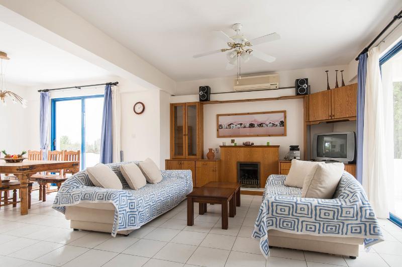 Living Room - Paphos Villa - Paphos - rentals