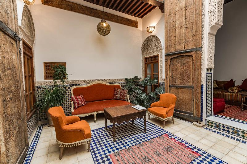 Patio - Dar Daheb, traditional house in the medina - Fes - rentals