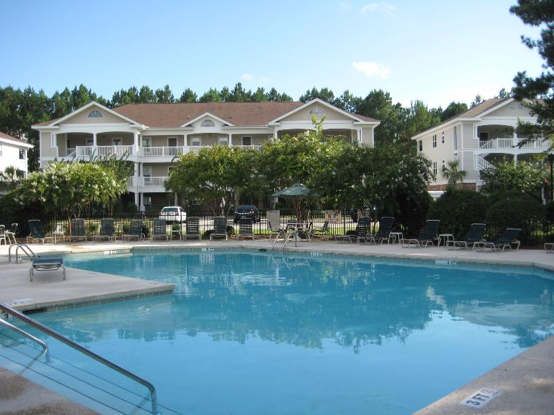 Your Pool and Villa await! - Barefoot Villa: Family, Pet Friendly, Golf, Beach - North Myrtle Beach - rentals
