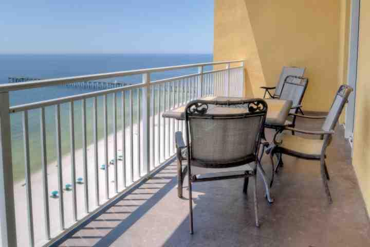 Great views!  Walking distance to Shipwreck Island and the Pier! - 1206 Sterling Reef - Panama City Beach - rentals