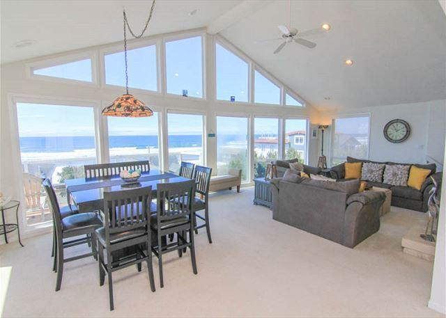 Spacious Ocean View Hm in Road's End, Close to Beach, Great Amenities! - Image 1 - Lincoln City - rentals