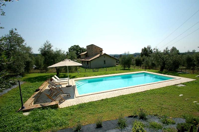 Detached house with private pool in Umbria - Image 1 - Amelia - rentals