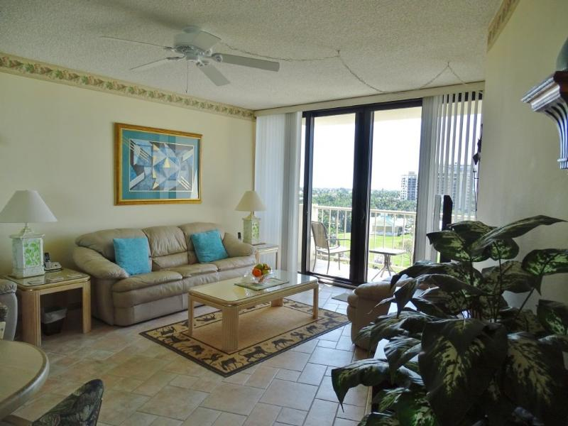 Living Room - Gulfview 803 - Marco Island - rentals