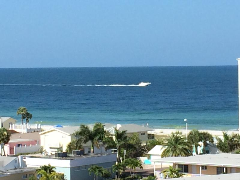 View of the Gulf from the upper decks of the complex! - Waterfront Condo With Ocean Views! - Indian Shores - rentals