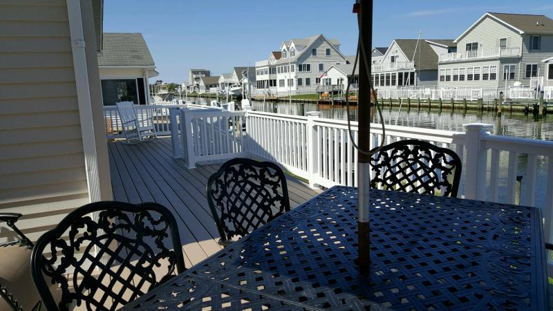 Spacious Deck! - Fenwick Island Waterfront 3BR Home, Bay access - Selbyville - rentals