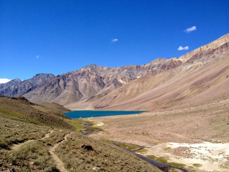 Chandra Tal...40 kms from The Nomad's Cottage - The Nomad's Cottage, Losar, Spiti Valley. - Lahaul and Spiti District - rentals