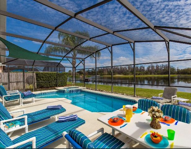 Imagine having breakfast here. - Luxury Lake Berkley 10min Disney gym-wifi-sat nav - Kissimmee - rentals