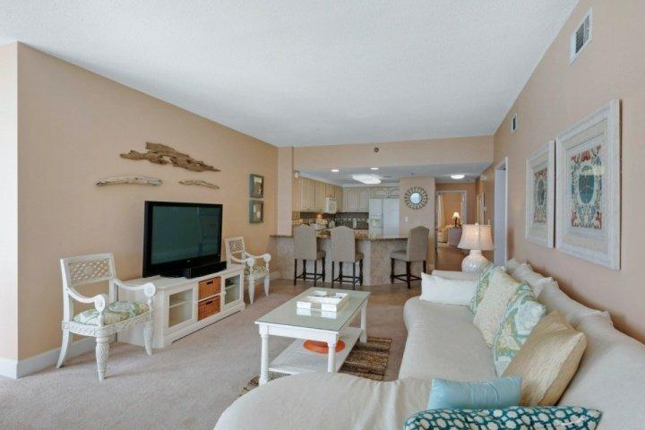 BEACH FRONT BEAUTY ON THE 14TH FLOOR AT JADE EAST. NEWLY REMODELED!! - Image 1 - Destin - rentals