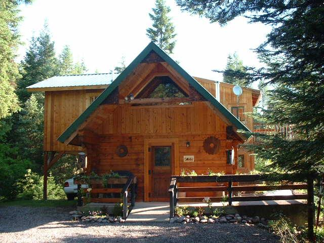 """Swan Peaks"" Mountain Chalet-Cabin - ""Swan Peaks"" Log Cabin Chalet - Lovely Mtn Views - Bigfork - rentals"