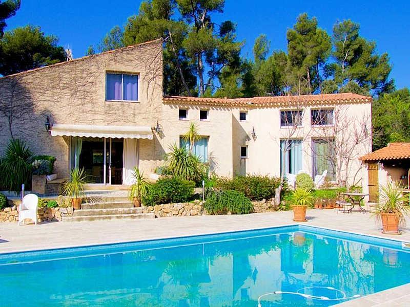 Aubagne Bouches-du-Rhône, Luxury Villa 11p. private pool & tennis court - Image 1 - Aubagne - rentals
