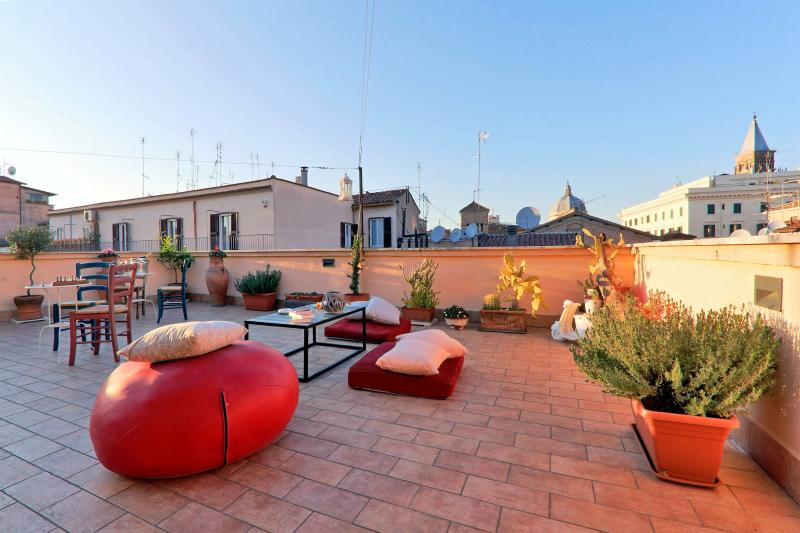 Rooftop terrace - Stunning rooftop terrace in the True Heart of Rome - Rome - rentals