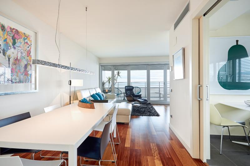 Luxury Penthouse Beach View (2BR) - Image 1 - Barcelona - rentals