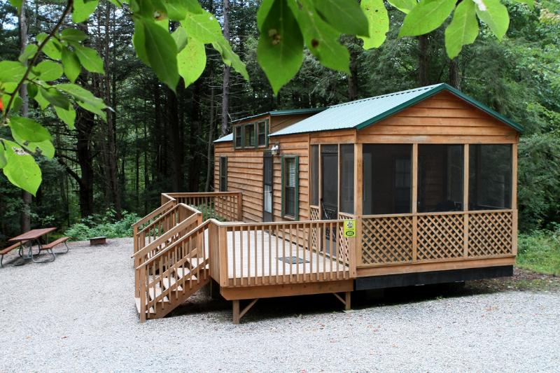 1 Bedroom Deluxe Lodge on Family Campground! - Image 1 - Ellenville - rentals