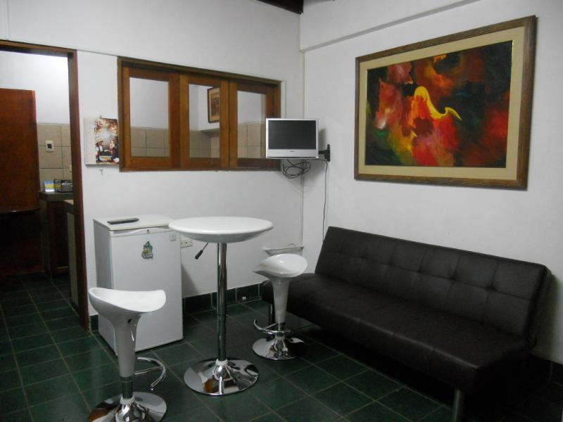 Living room - QUIET AND NICE APARTMENT IN MIRAFLORES - Lima - rentals