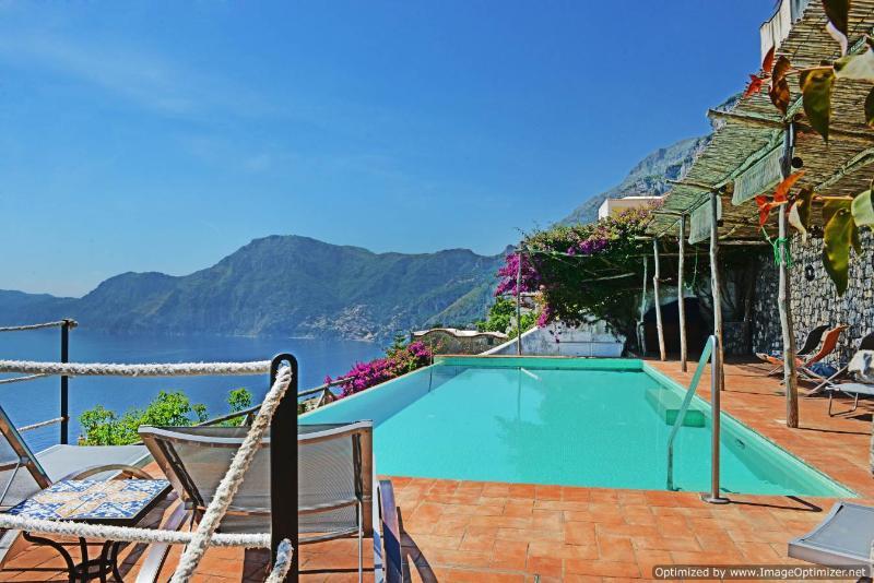 Villa Poeti Praiano villa rental with pool - Image 1 - Praiano - rentals