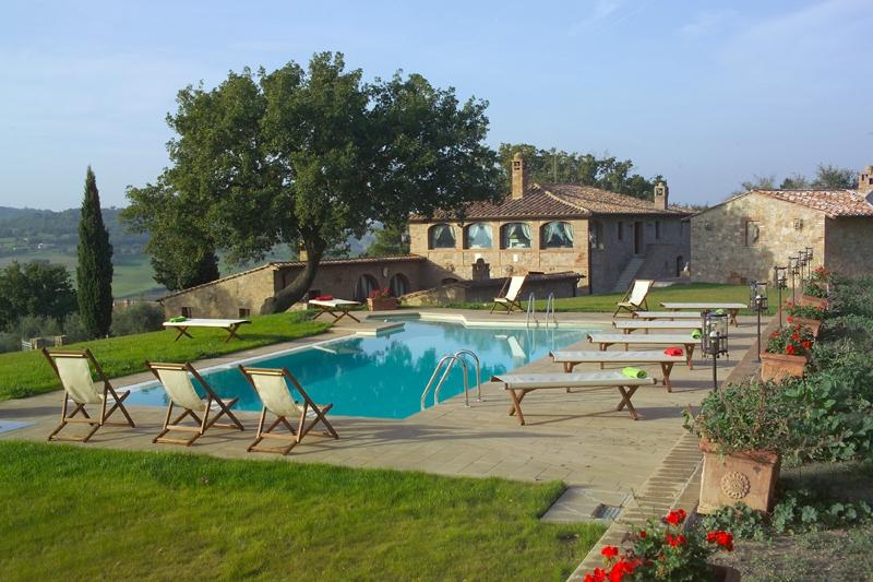 Villa Pamina holiday vacation large villa rental italy, tuscany, near siena - Image 1 - Monticchiello - rentals