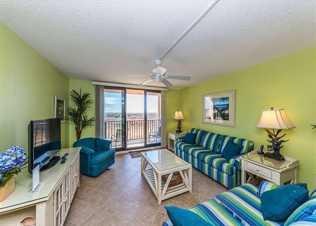 Perfect Family Accommodation – - Island Club 2102, 2 Bedroom, Oceanfront, Large Pool, 1st Floor, Sleeps 7 - Hilton Head - rentals