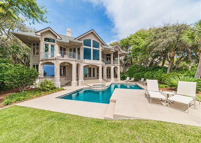 South Beach Lagoon 21, 5 Bedrooms, Ocean Front, Private Pool, Sleeps 12 - Image 1 - Hilton Head - rentals