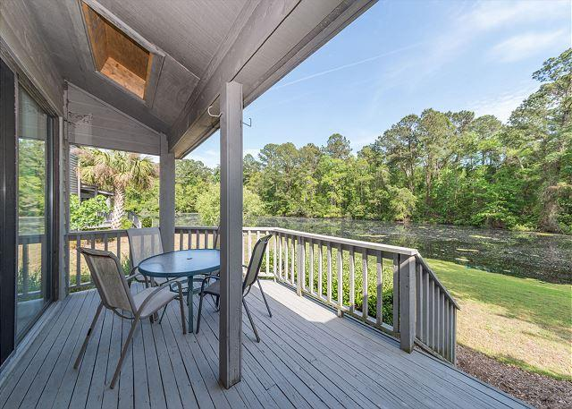 Live Life - Lake Forest Villa 3368, 2 Bedroom, Lagoon View, Pool, Tennis, Sleeps 6 - Shipyard Plantation - rentals
