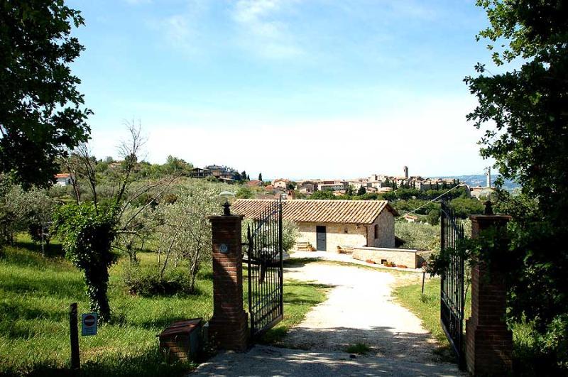 Detached villa with private pool near village - Image 1 - Montecchio - rentals