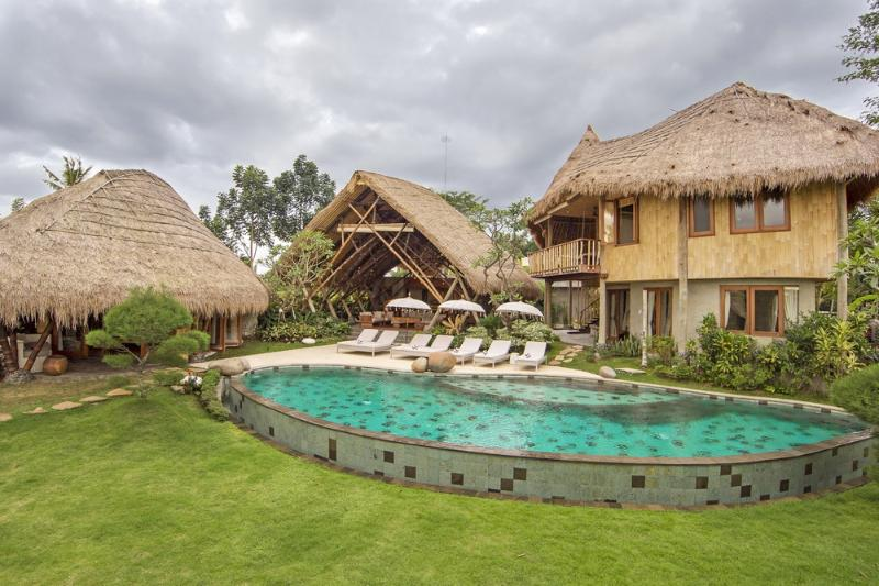 Luxury 5 Bedroom Villa , Rice Fields View, Ubud - Image 1 - Ubud - rentals