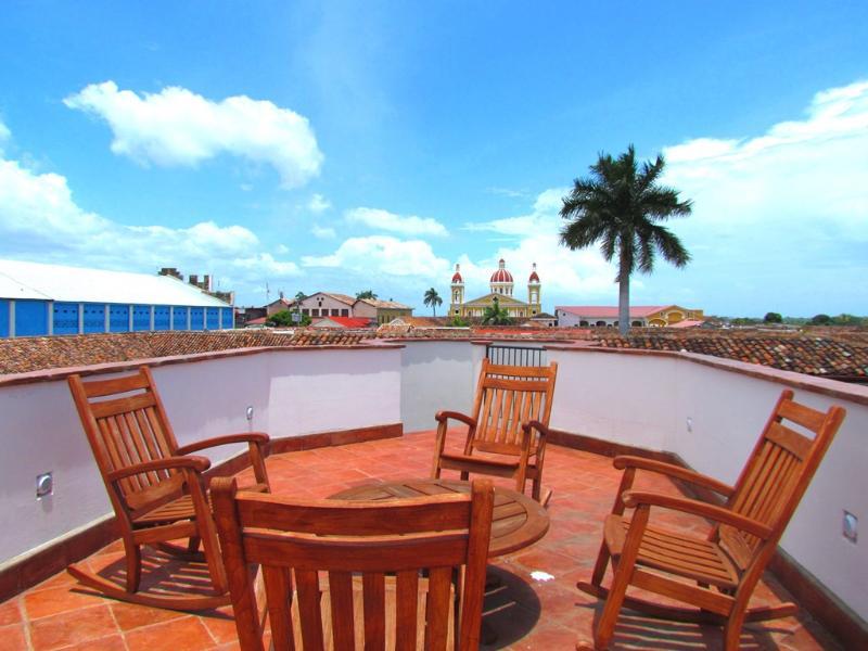 View from the third floor patio. - Casa Consulado - Granada - rentals