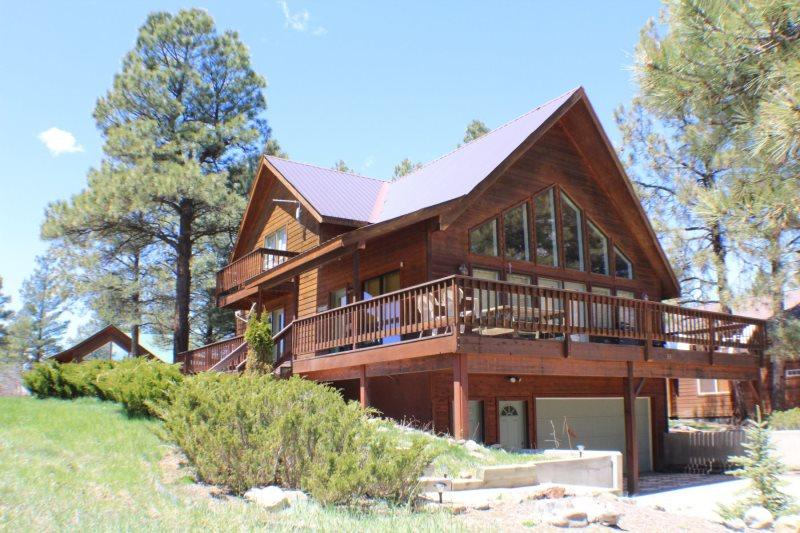Caleta is a charming vacation home awaiting your arrival in Pagosa Springs. - Image 1 - Pagosa Springs - rentals