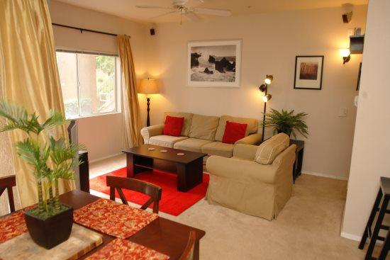 Living room - Williams Center 13107 - Tucson - rentals
