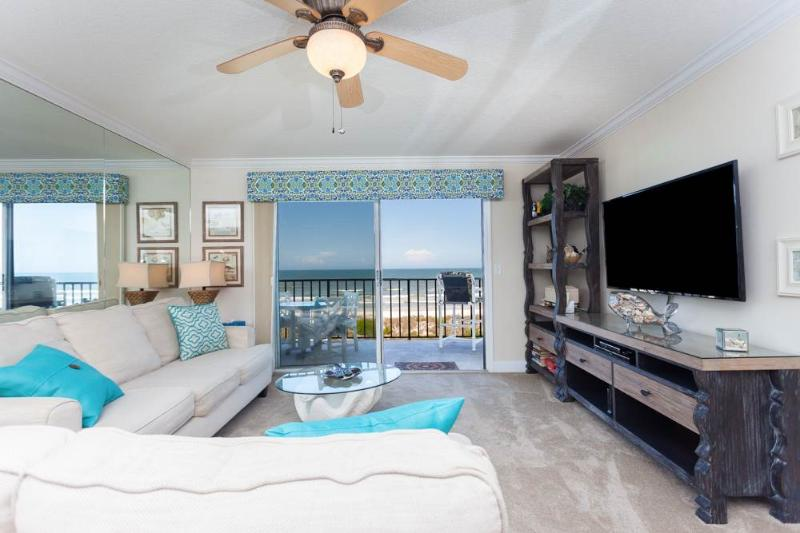 Windjammer 214, 2 Bedrooms,  Ocean Front, Elevator, Pool, Sleeps 6 - Image 1 - Saint Augustine - rentals