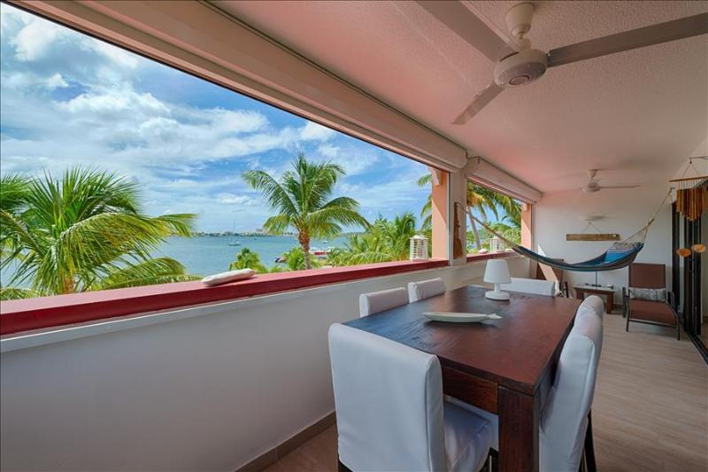 Bright, Spacious and Comfortable Duplex with Lovely Views on the Simpson Bay Lagoon - Image 1 - Sandy Ground - rentals