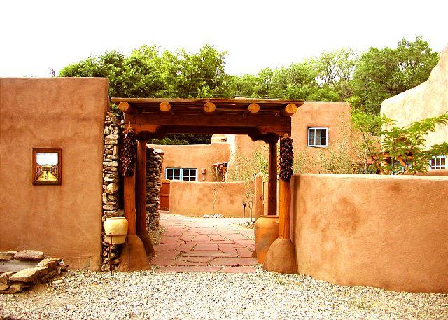 Walk to town -Historic restored condo (a former family compound and chapel) - Image 1 - Taos - rentals