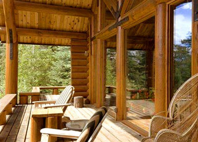 El Salto Log Home - El Salto Log Home wooded setting hot tub log cabin secluded peaceful - Arroyo Seco - rentals