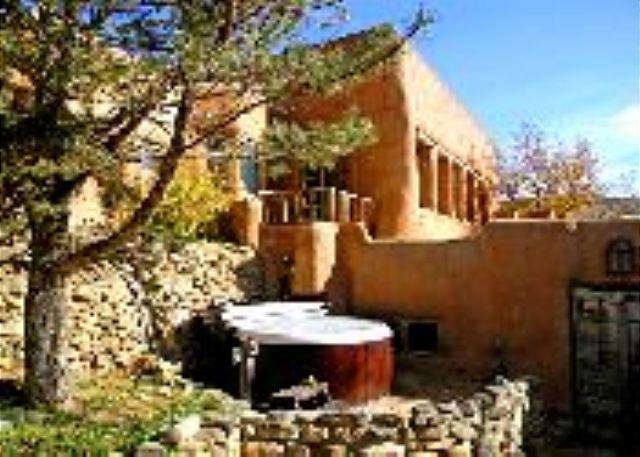 Guest House of Historic (1790) walled adobe hacienda 6 miles south of Plaza - Image 1 - Ranchos De Taos - rentals