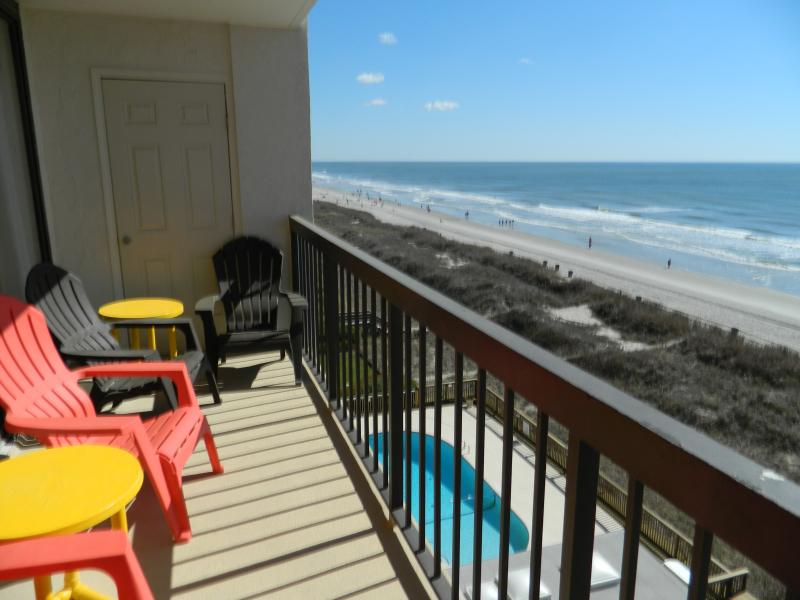 Furnished Oceanfront Balcony - Ocean Front Condo w/ New Kitchen! Great Rates! - North Myrtle Beach - rentals