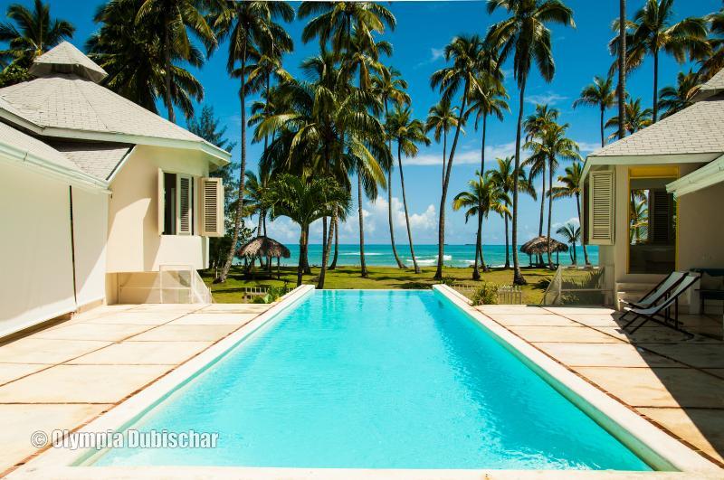 Beachfront dream Casa Playa at Playa Coson for 18 - Image 1 - Las Terrenas - rentals