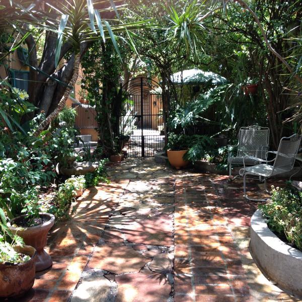 Entry Garden to Casita de Jardin & Casita de Arboles - San Miguel de Allende, Mexico Casita de Jardin - San Miguel de Allende - rentals