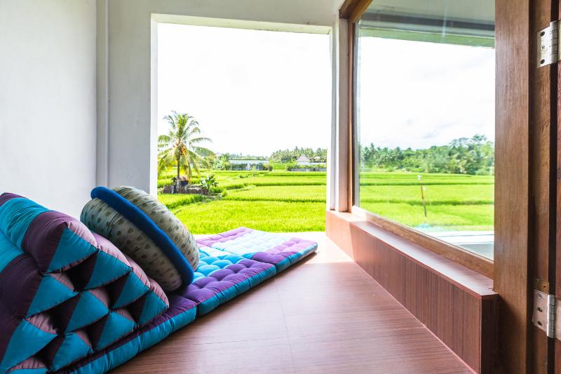 The Master Bedroom - Ubud Rice Field Green Loft Villa - Ubud - rentals