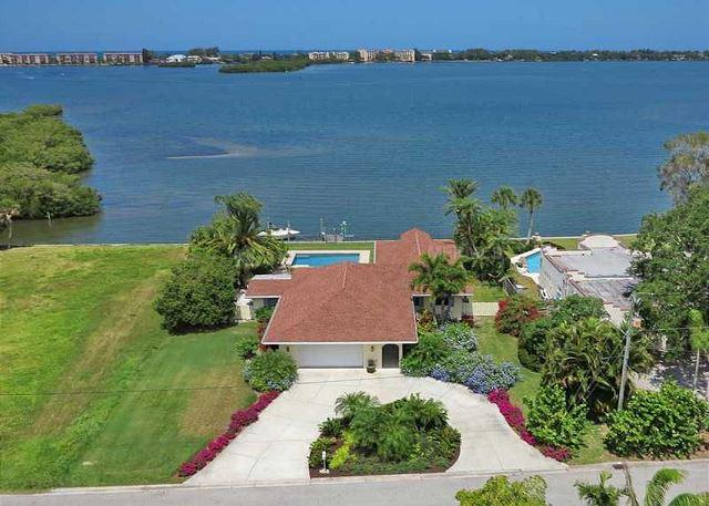 Spacious Sarasota Waterfront Pool Home with Dock - Amazing Sunsets Included - Image 1 - Sarasota - rentals