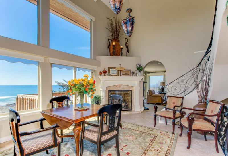 Admire the ocean from this elegant beach chateau on the Oregon coast! - Image 1 - Lincoln City - rentals