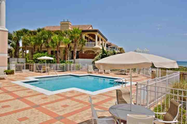 Community Pool - Blue Lupine #212 - Gulf Front Condominium - Amazing Views! - Point Washington - rentals