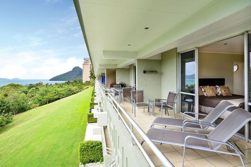 Balcony - Poinciana 201 - Hamilton Island - rentals