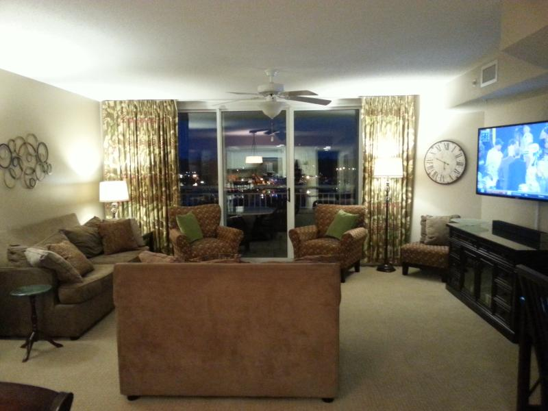 Newly Renovated Living Room (2015) - Barefoot Resort - Yacht Club - Newly Renovated! - North Myrtle Beach - rentals